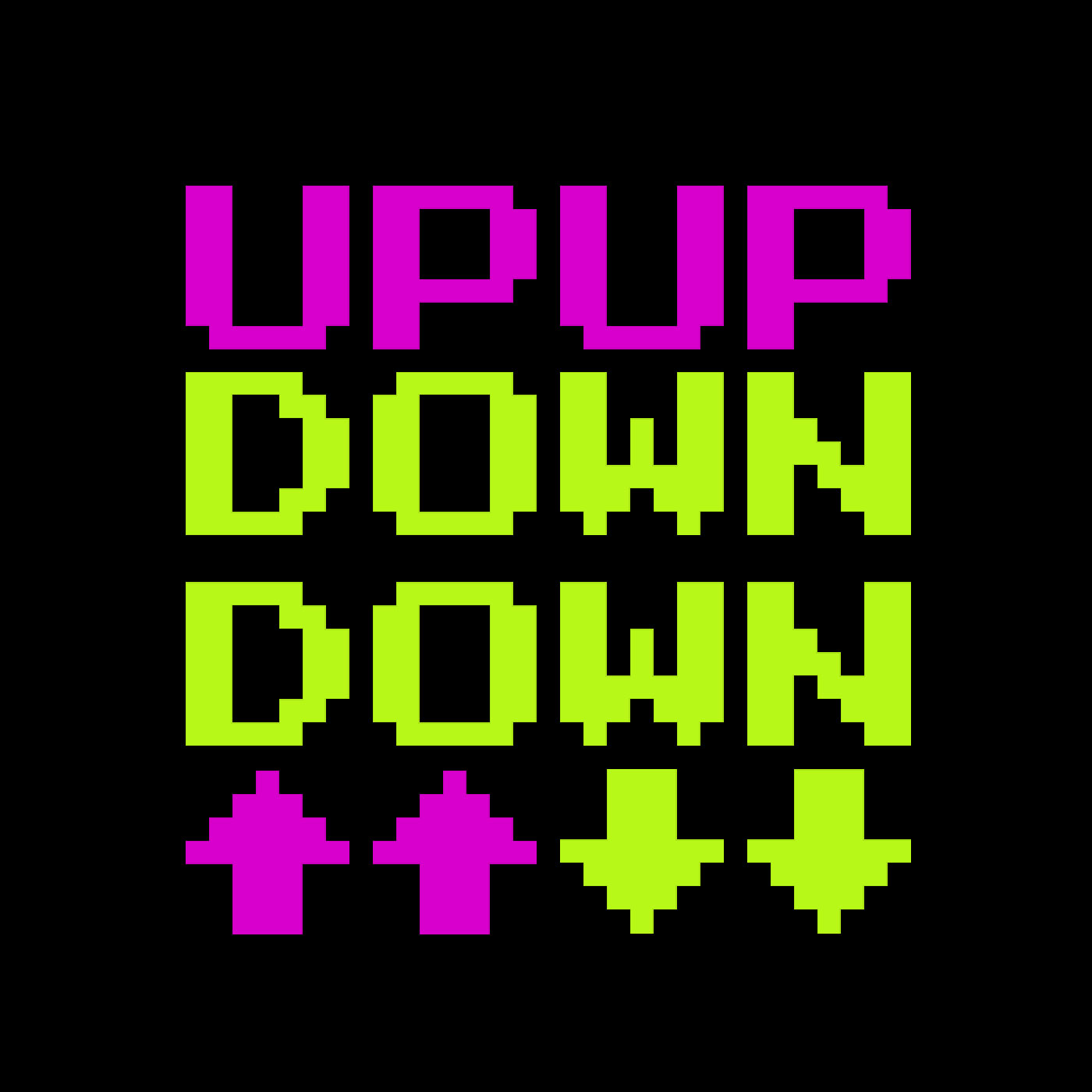 Up Up Down Down